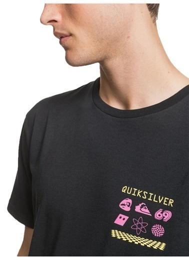 Quiksilver Tişört Siyah